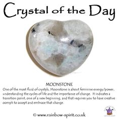 Rainbow Moonstone crystal healing stone of new beginnings and divination