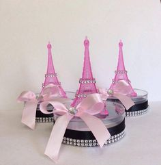 6 Eiffel Tower small centerpiece-eiffel tower di Marshmallowfavors