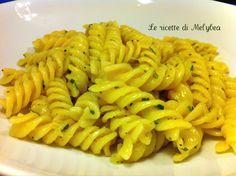 pasta aglio olio e limone