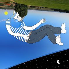 Thomas Lamadieu, Preenchendo Espaços no Céu