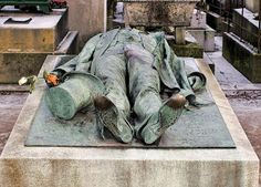Victor Noir, (27 July 1848 in Attigny, Vosges – 11 January 1870 in Paris), was a French journalist who is famous for the manner of his death and its political consequences. His tomb in the Père Lachaise Cemetery in Paris later became a fertility symbol.