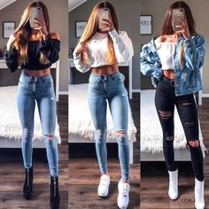 Fashion Cute Outfits + Cute Summer Outfits Pics with Women's Clothing Online England before Cute Casual Outfits To Impress A Guy; Teen Fashion Outfits, Mode Outfits, Outfits For Teens, Fall Outfits, Summer Outfits, Outfits For Rainy Days, Style Fashion, Outfits For School, Rainy Day Outfit For Spring
