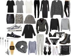 """""""Basic Wardrobe + wantings"""" by nannanova ❤ liked on Polyvore"""