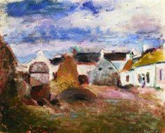 Farmyard in Brittany / Henri Matisse - 1897
