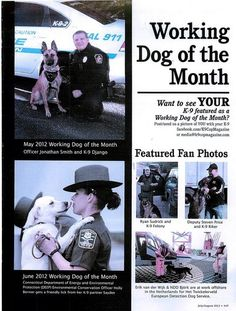 Allentown police dog, officer featured in K-9 police magazine
