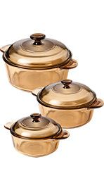 Visions cookware- the best for rice, steaming veggies, more. Vermont Country Store