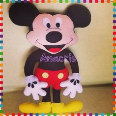 Mickey feltro 28 cm .