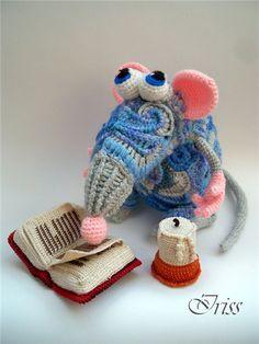 freeform crochet amigurumi