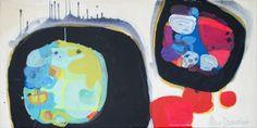 "Saatchi Online Artist: Claire Desjardins; Acrylic, 2013, Painting ""Tight Spot"""
