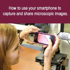 Medical Laboratory and Biomedical Science: How to use your smartphone to capture and share microscopic images