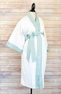 Avery Maternity Kimono Robe - Super Soft Microfleece - Add a Labor and Delivery Gown to Match