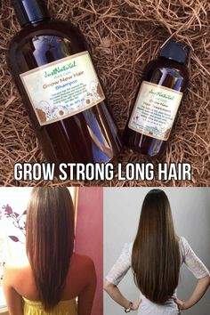 I'm crazy in love with this grow new hair treatment! It makes me look like I have twice as much hair on my head. For the first time in a long while my hair really looks healthy. I found that I only need a tiny amount applied on my ends and a little more o