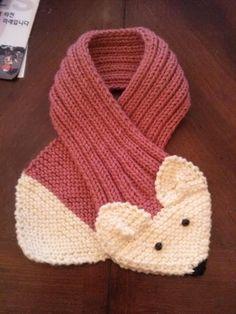 RÉGLABLE pour ENFANT ou adulte Fox écharpe à la par QuiltNCrochet