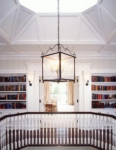 book cases for the 2nd story walk way Part Brit, Part Aussie in Beverly Hills: Crescent by Chris Barrett