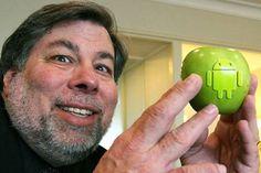 Steve Wozniak gostaria que Apple trabalhasse em parceria com Google e Samsung - Blue Bus