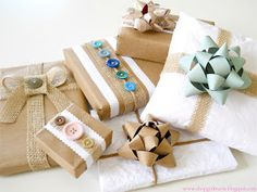 Shopgirl: Recycled Gift Wrap Ideas!