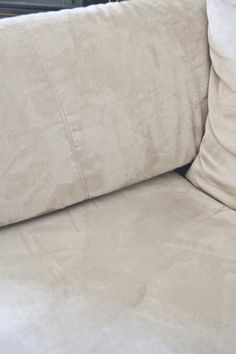 551 east : How to clean a microfiber couch