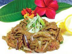 Making beef kelaguen's a snap Guam Recipes, Filipino Recipes, Beef Recipes, Filipino Food, Healthy Recipes, Chamorro Recipes, Chamorro Food, Maila, Family Meals