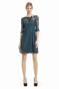 if you're having a hard time finding a dress, check out renttherunway.com.. designer dresses for rent. Milly Sophia Lace Shift