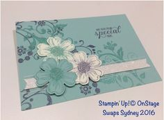 Carolina Evans - Stampin' Up! Demonstrator, Melbourne Australia: OnStage Swaps from my Stampin friends #stampinup #onstage2016