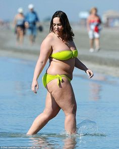 Body confidence: Former Big Brother star Chanelle Hayes, pictured in April,  has admitted ...