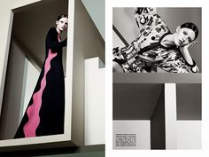 Graphic & Graphic by Craig McDean for Vogue Italia July 2014