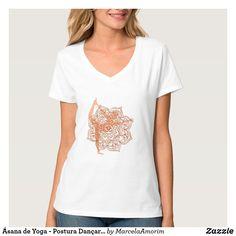 Camiseta Ásana de Yoga - Postura Dançarina (Natarajasana)