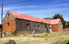 Stunning old farmhouses and buildings, rich colours in wide open spaces.
