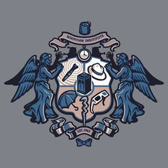 Whovian Institute shirt don't blink if you're looking at me