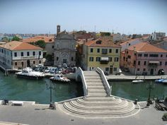 stairway in Chioggia, Italy from http://www.ciclismoclassico.com/trip_finder/view_trip/38/venice_to_bologna