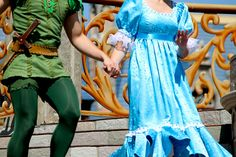 Peter Pan and Wendy Darling forever in eachothers hearts