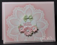 SUO47 Hello, Doily by stampercamper - Cards and Paper Crafts at Splitcoaststampers