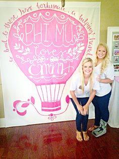 Phi Mu Kappa Gamma Philanthropy Day 2014 Big/Little