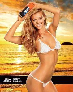 Model poses in nothing but shaving cream for Sports Illustrated's Swimsuit issue ~ Udakuzi Mtandaoni | King of Gossipy