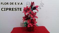 Flor de e.v.a CIPRESTE
