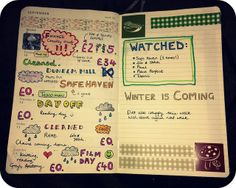 Moleskine planner, week 37 | Flickr - Photo Sharing!