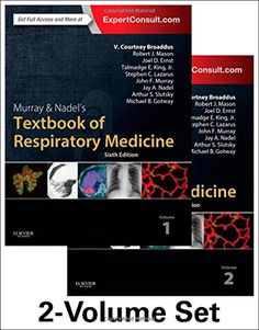 Murray & Nadel's Textbook of Respiratory Medicine, 2-Volume Set, 6e (Textbook of Respiratory Medicine (Murray)) by V.Courtney Broaddus MD http://www.amazon.com/dp/1455733830/ref=cm_sw_r_pi_dp_kTa.wb1173A09
