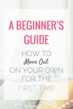 Are you interested in moving out on your own? There are so many factors to consider when moving out of your parent's house for the first time. It can be a very scary yet exciting and exhilarating time of your life. Here are some tips on what to expect and Finanz App, Apartment Essentials, Apartment Ideas, Apartment Layout, First Apartment Tips, Apartment Interior, Move In Checklist Apartment, Apartment Life Hacks, London Apartment