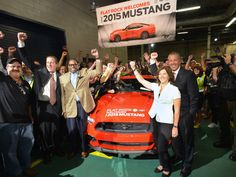 All-New 2015 Ford Mustang Begins Production at Flat Rock Assembly Plant; Marks Global Availability of Iconic Pony Car.