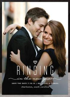 Image result for ring in the new year save the date