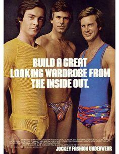 Jockey fashion underwear for men.