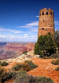 Watch Tower, East Rim, Grand Canyon National Park, Arizona.  Photo: Kim Ashley