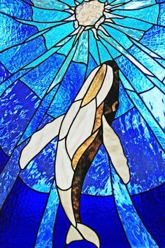 35 Best Stained Glass Ocean Whales Images Stained Glass Stained Glass Patterns Stained