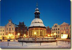 Wismar Winter Scene