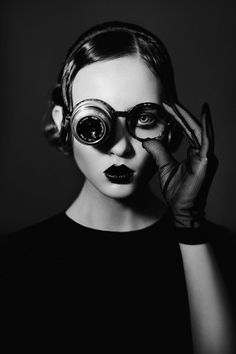 black-white-madness:  Madness::Photography: Ekaterina Belinskaya Model: Bambi @ultramodels Make-up: Yana Efremova Hair Stylist: Alexey Yaroslavtsev