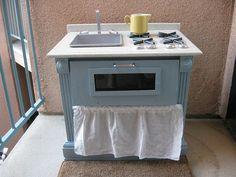 Simple Blue Kitchen by Jane Little, via Flickr