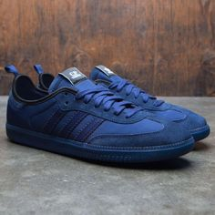 best value a3ef0 9de16 Adidas x C.P. Company Men Samba blue dark blue night sky dark purple Samba,  Adidas