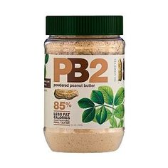 Powdered Peanut Butter - 85% Less Fat and Calories - Use for Smoothies and Bake Goods