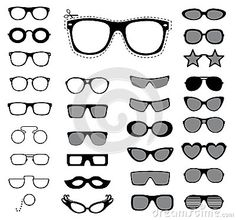 Plantillas patrones de gafas - Buscar con Google