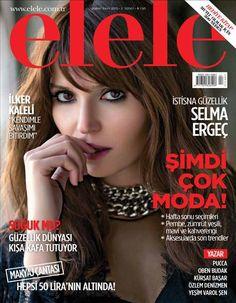 Selma Ergeç - Elele Magazine Cover [Turkey] (February 2015)